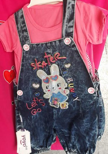 Dečija odeća i obuća | Novi Sad: Komplet za devojčice, veličine 1 i 2
