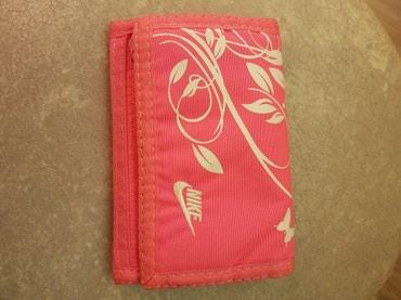 Torbe | Srbija: Nike novcanik original roze boje,bez tragova nosenja
