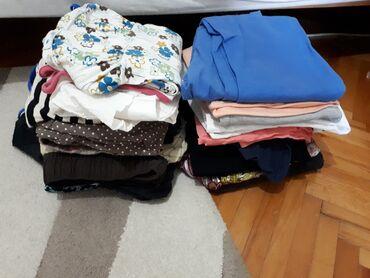 Zenske garder - Srbija: Paket zenske garderobe u M velicini. Farke, majice, haljine, helanke