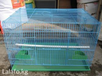 Продаются вольеры-клетки для птицы,60см. цвета разные оптом и в розниц в Бишкек