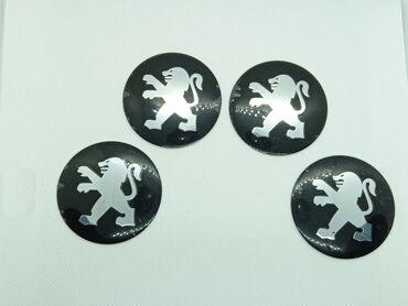 PEUGEOT - plastificirane nalepnice za felne - set od 4 komada