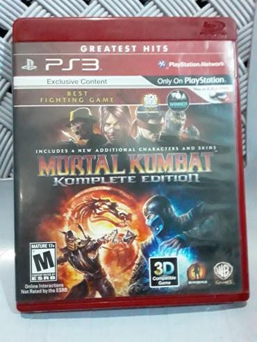Sumqayıt şəhərində Mortal Kombat, oyun diski satilir, yenidir cızığı, ləkəsi