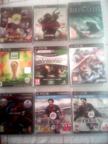 Bakı şəhərində Ps. 3. Ucun oyun diskleri satilir.
