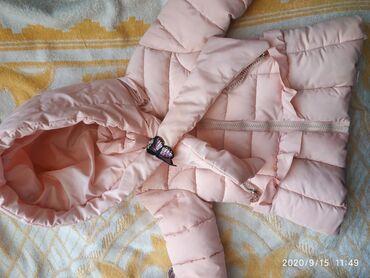 37 размер обувь в Ак-Джол: Куртка зимняя доля девочки в хорошем состоянии размер от 6 до 1.6