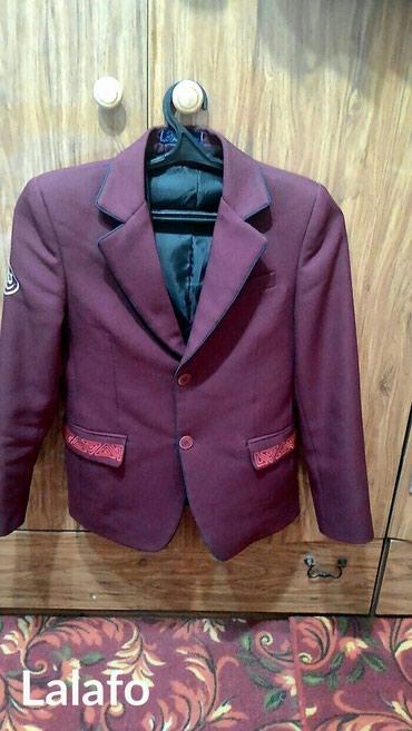 Пиджак для мальчика - на 6 класс и на 7класс серый пиджак(новый) в Бишкек - фото 2