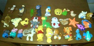 30 маленьких игрушек(пластик,плюшевые, в Бишкек