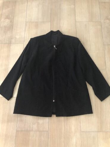 Duzina cm crni - Srbija: Zenska crna jakna, tanja je. Rukavi mogu da se skinu da bude prsluk. B