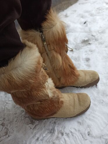 теплые унты в Кыргызстан: Сапоги#(Унты ) из натурального меха северного оленя.Очень очень