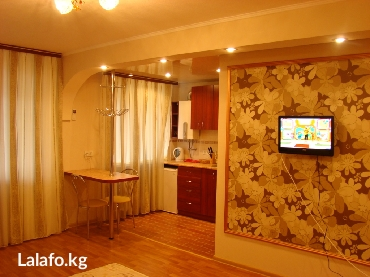 Шикарная Евро 1ком. кв. в районе в Бишкек