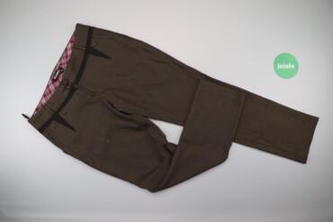 Жіночі штани у маленьку клітинку Exist, p. L    Довжина: 98 см Довжина