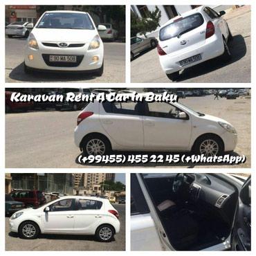 Bakı şəhərində Hyundai I 20 icareye verilir WHATSAPPa yazin ve ya zeng edin.
