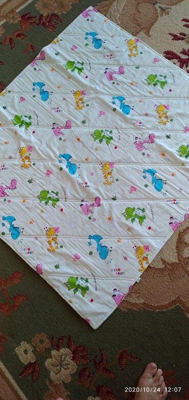 Идеальное детское одеяло для новорожденного 100%хб, внутри ватин и 100