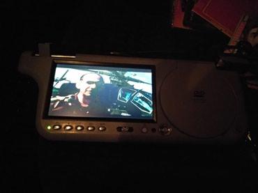 DVD плеер,с fm передатчком.Козерог.подходит на любое авто.Сост отл. в Бишкек