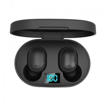 Беспроводные Bluetooth Наушники E6S Airdots С Led Дисплеем Bluetooth