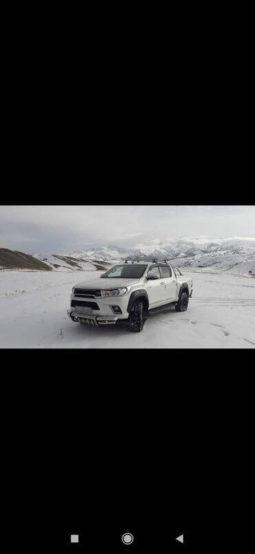 проба в Кыргызстан: Toyota Hi-Lux 2015 | 20000 км