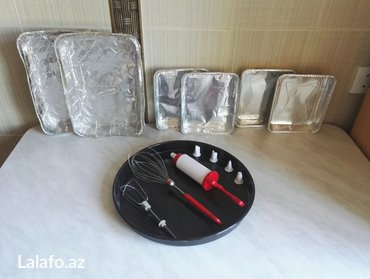 Bakı şəhərində Протвень и другая посуда для выпечки. Продаётся всё вместе , цена окон