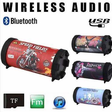 Bluetooth zvučnik Hip Hop bežični Bluetooth zvučnik sa funkcijom