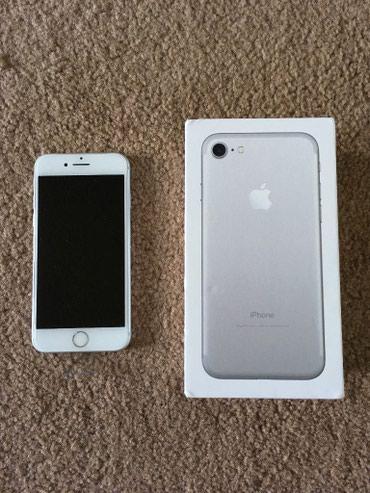 Iphone 7/32 silver новый запечатанный без обмена цена окончательно  в Бишкек