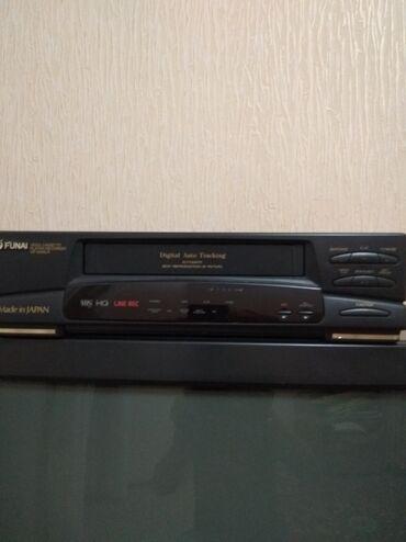 Продаю видео магнитофон funai производства Япония 1000 сом состояние