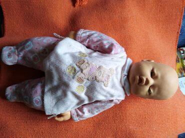 Skafander za bebe - Pozarevac: Velike lutke bebe na baterije sa priborom za hranjenje