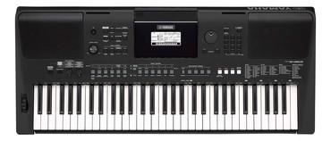 Японская видеокамера - Кыргызстан: Синтезатор YAMAHA PSR-E463 – портативные клавишные начального уровня