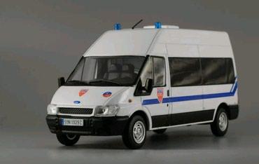 промо модель в Кыргызстан: МАСШТАБНАЯ модель FORD TRANSIT масштаб 1:43