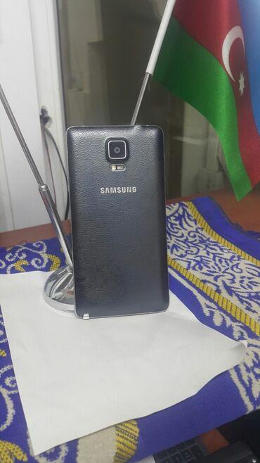 5 barmaq - Azərbaycan: Samsung Galaxy Note 4 32 GB qara