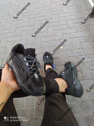 детская обувь валенки в Азербайджан: Bəylər üçün gəldi👟Adidas yezzy 700 Foto Real çəkilib☘️. 💸