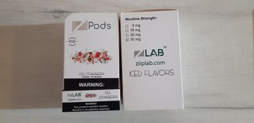 Ziiplab pods iced strawberry