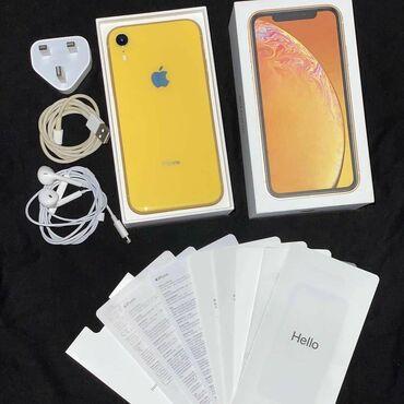 IPhone Xr | 128 ГБ | Желтый | Новый | Гарантия, Face ID