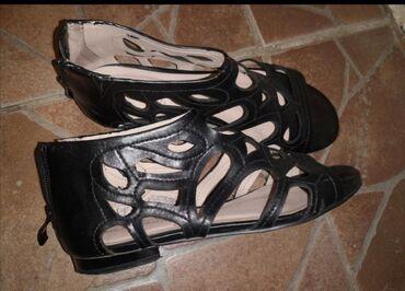 Sandalice za devojcice,kozne,nove,broj 35