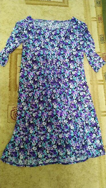 Обалденное платье для беременных и не толькоТрикотаж, размер