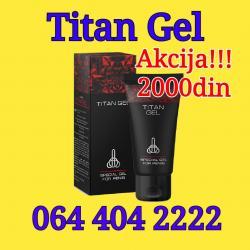 Titan Gel - gel za uvećanje penisa - Belgrade