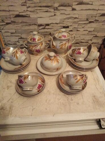 Чайный сервиз на 6 персон СССР (Довбыш)