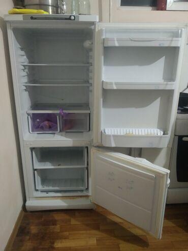 Двухкамерный Белый холодильник Indesit