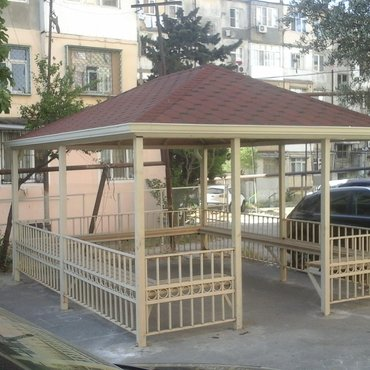 Bakı şəhərində Hər növ besedkaların tikilməsini şirkətimiz həyata keçirir.