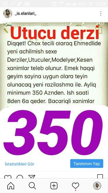 Bakı şəhərində Iw utucu dersiz ow qrafiki 08:00-18:00 kimi emwk haqqi 300 azn 20-50