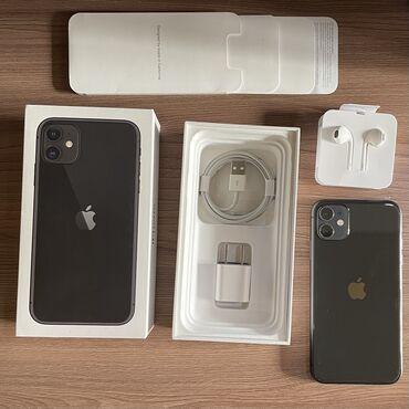 Смартфон lenovo a316i black - Кыргызстан: Б/У IPhone 11 128 ГБ Черный