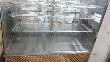 Услуги - Ашагы-Гюздек: Chorek shirniyyat tort vitrinleri satilir 1 metresi 250 azn az