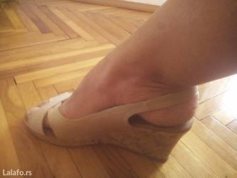 Kozne differente sandale, nove. Visina platforme 8cm. Broj 40. - Zrenjanin