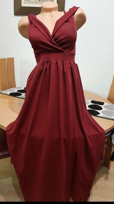 Duga haljina - Srbija: Nova duga haljina!!!Vel univerzalna.Cena 1200rsd