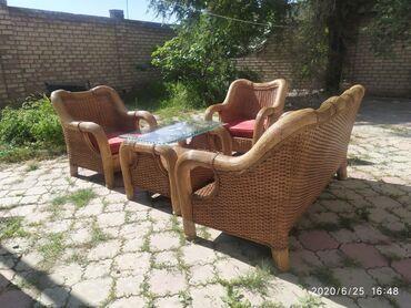 Продается ротанговая (бамбуковая) мебель ручной работы экологически