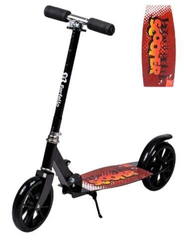 Спорт и хобби - Мыкан: Двухколесный самокат для детей Farfello GG-45. Быстрый и стильный