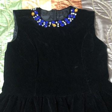Платья - Баетов: Черное бархатное красивое платье