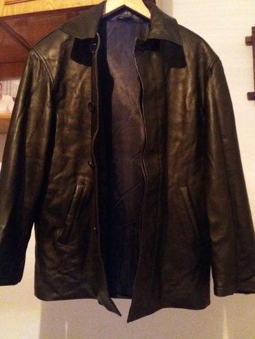 мужская кожанная куртка. натуральная кожа. в отличном состоянии. разме в Бишкек