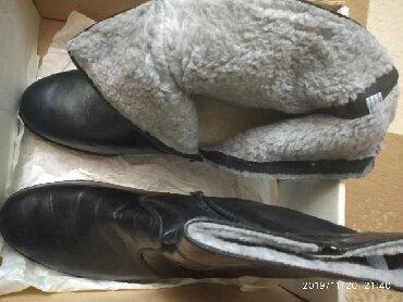 сапоги мужские в Кыргызстан: Продаю мужские сапоги зима большой 45 размер Новые! Производство