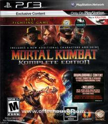 Mortal Kombat 9 Playstation 3 oyunu в Bakı