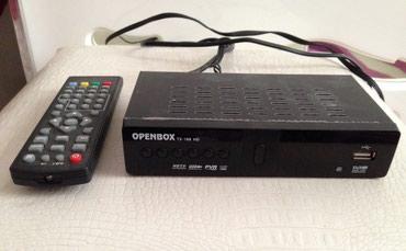 Bakı şəhərində OPENBOX aparatı. Çox az işlənib.