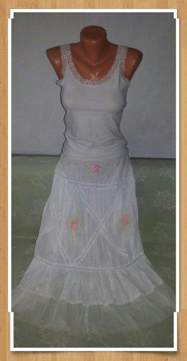 юбки индия в Кыргызстан: Юбочка в отличном состоянии! Белоснежная. хлопок. юбочка пышная и