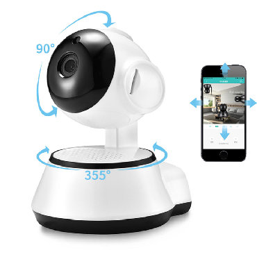 Xiaovv Q6S Smart 360° PTZ Panoramic 720P Wifi Baby Monitor H.264 ONVIF